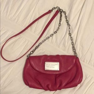 Marc Jacobs leather pink cross body